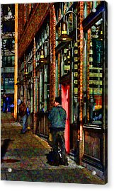 Passing Time Acrylic Print by David Patterson