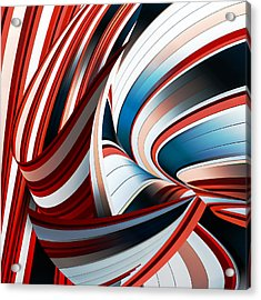 Passione Annodata Acrylic Print by Gilbert Claes