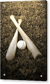 Pastime Acrylic Print by Shawn Wood