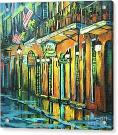 Pat O Briens Acrylic Print by Dianne Parks