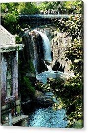 Paterson Falls Acrylic Print by Susan Savad