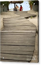 Path Acrylic Print by Blink Images