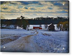 Path Ways Acrylic Print by Robert Pearson