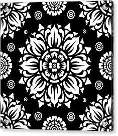 Pattern Art 01-1 Acrylic Print by Bobbi Freelance