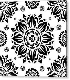 Pattern Art 01-2 Acrylic Print by Bobbi Freelance