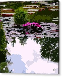 Patterns Of Peace Acrylic Print by John Lautermilch