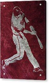 Paul Goldschmidt Arizona Diamondbacks Art Acrylic Print by Joe Hamilton