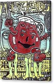 Peace Aid Acrylic Print by Robert Wolverton Jr