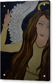 Peace, Brother Acrylic Print by Wendy Wunstell