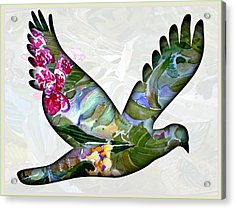 Peace For Peace Acrylic Print by Mindy Newman