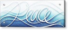 Peace Like A River Acrylic Print by Shevon Johnson
