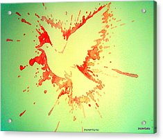 Peace Made By War Acrylic Print by Paulo Zerbato
