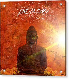 Peace Acrylic Print by Michelle Foster