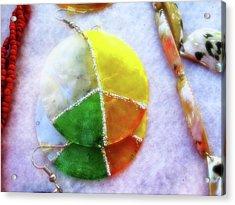 Peace Acrylic Print by Molly McPherson