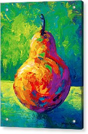 Pear II Acrylic Print by Marion Rose