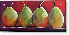 Peartastic Acrylic Print by Toni Grote