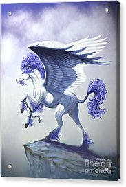 Pegasus Unchained Acrylic Print by Stanley Morrison