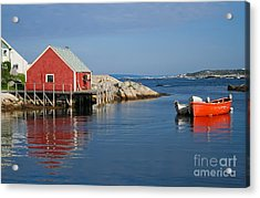 Peggys Cove Acrylic Print by Thomas Marchessault
