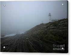Pemaquid And The Sea Acrylic Print by Timothy Johnson