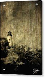 Pemaquid Point Acrylic Print by Christine Hauber