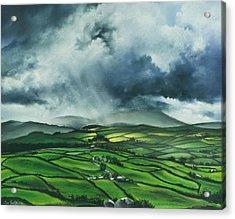 Pendle Hill. Lancashire.england. Acrylic Print by Jan Farthing