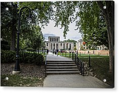 Penn State Library  Acrylic Print by John McGraw