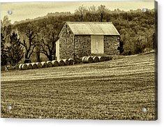 Pennsylvania Barn Acrylic Print by Bill Cannon