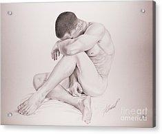 Perdida Acrylic Print by Alex Chinea Pena