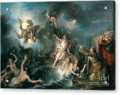Perseus Rescuing Andromeda Acrylic Print by Charles Antoine Coypel