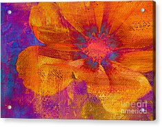 Petaline - T39a04b Acrylic Print by Variance Collections
