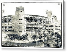 Petco Park Acrylic Print by Nancy Forehand