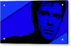 Peter Gabriel Collection Acrylic Print by Marvin Blaine
