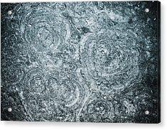 Petrified Sea Floor Acrylic Print by Ryan Kelly