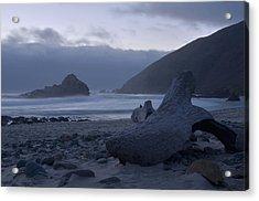 Pfeiffer Beach - Big Sur Acrylic Print by Stephen  Vecchiotti