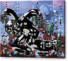 Phantom Acrylic Print by Marko Mitic