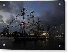 Phantom Ship Acrylic Print by David Lee Thompson