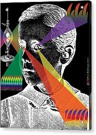 Phenomena Of Incandescence Acrylic Print by Eric Edelman