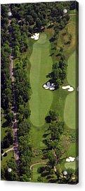 Philadelphia Cricket Club Militia Hill Golf Course 13th Hole Acrylic Print by Duncan Pearson