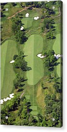 Philadelphia Cricket Club Militia Hill Golf Course 14th Hole Acrylic Print by Duncan Pearson