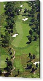 Philadelphia Cricket Club Militia Hill Golf Course 16th Hole 2 Acrylic Print by Duncan Pearson