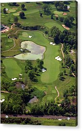Philadelphia Cricket Club Militia Hill Golf Course 3rd Hole Acrylic Print by Duncan Pearson