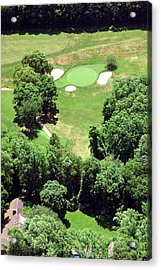 Philadelphia Cricket Club St Martins Golf Course 5th Hole 415 W Willow Grove Ave Phila Pa 19118 Acrylic Print by Duncan Pearson