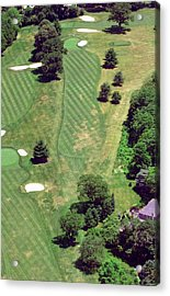 Philadelphia Cricket Club St Martins Golf Course 8th Hole 415 W Willow Grove Ave Phila Pa 19118 Acrylic Print by Duncan Pearson