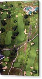 Philadelphia Cricket Club Wissahickon Golf Course 11th Hole Acrylic Print by Duncan Pearson