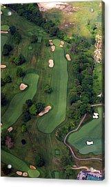 Philadelphia Cricket Club Wissahickon Golf Course 12th Hole Acrylic Print by Duncan Pearson