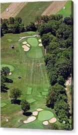 Philadelphia Cricket Club Wissahickon Golf Course 15th Hole Acrylic Print by Duncan Pearson