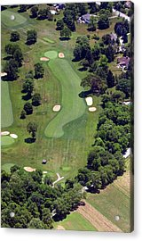 Philadelphia Cricket Club Wissahickon Golf Course 16th Hole Acrylic Print by Duncan Pearson