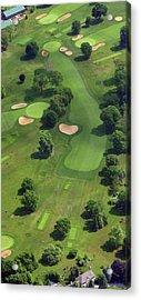 Philadelphia Cricket Club Wissahickon Golf Course 17th Hole Acrylic Print by Duncan Pearson