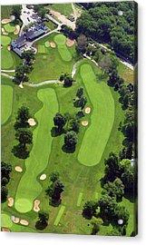 Philadelphia Cricket Club Wissahickon Golf Course 18th Hole Acrylic Print by Duncan Pearson