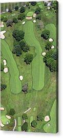 Philadelphia Cricket Club Wissahickon Golf Course 4th Hole Acrylic Print by Duncan Pearson